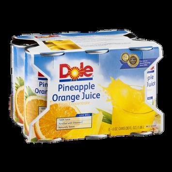 Dole Pineapple Orange Juice - 6 PK