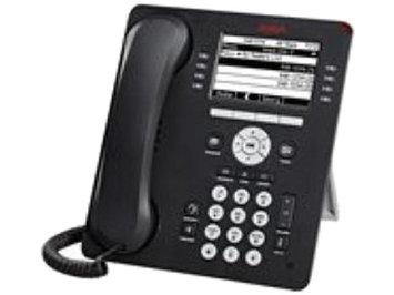 Avaya 9608 IP Deskphone - VoIP phone - H.323 SIP - 8 lines - gre