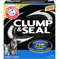ARM & HAMMER™ Clump & Seal™ Complete Odor Sealing Clumping Litter Fresh Home