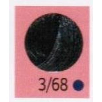 Wella Color Touch Multidimensional Demi-Permanent Color 1:2 3/68 Dark Brown/Violet Pearl