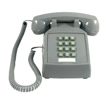 Cortelco 2500-V-SL 250082vba20m Desk W/ Volume Slate
