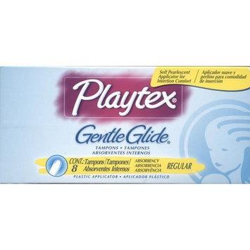 Playtex Gentle Glide Regular Absorbancy Tampons, 8 each (2 Pack)