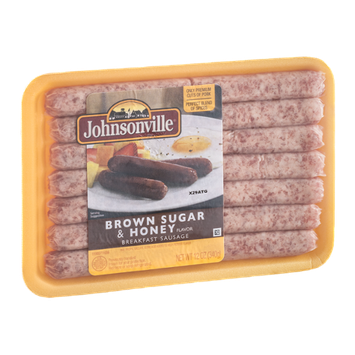 Johnsonville Breakfast Sausage Brown Sugar & Honey Flavor