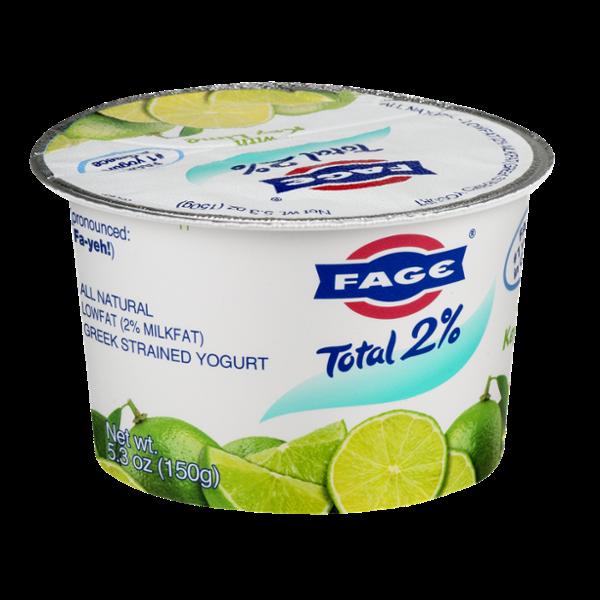 Fage Total 2% Greek Strained Yogurt with Key Lime