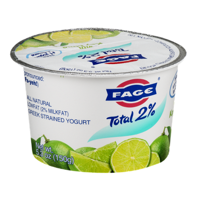 Fage Total 2% Greek Strained Yogurt with Key Lime