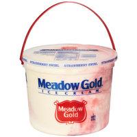 Meadow Gold Strawberry Swirl Ice Cream, 5 qt