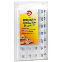 Walgreens 7 Day Removable Medication Pill Organizer