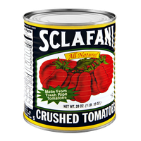 Sclafani All Natural Gluten Free Crushed Tomatoes