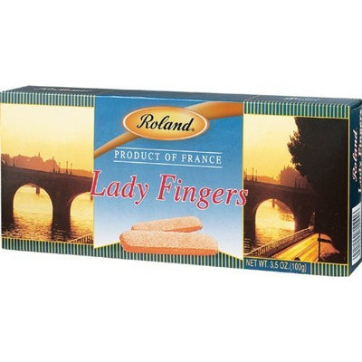 Roland Lady Fingers Champagne Biscuits, 3.5-Ounce (Pack of 20)
