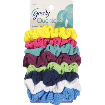 Goody Ouchless Neon Lights Gentle Scrunchies