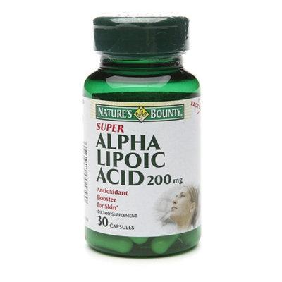Nature's Bounty Super Alpha Lipoic Acid