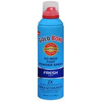 Gold Bond No Mess Foot Powder Spray Fresh Scent