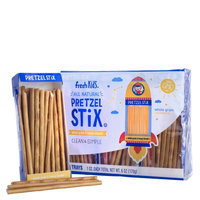 Fresh Kids Whole Grain & Honey Kissed Pretzel Stix, 1 oz, 6 count