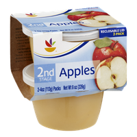Ahold 2nd Stage Baby Food Apples - 2 CT