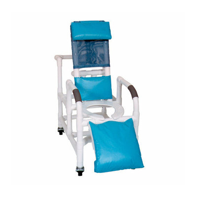 MJM International Bundle-69  Pediatric Reclining Shower Chair with Leg Extension