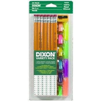 Dixon Ticonderoga Company Dixon Ticonderoga 14428 Dixon Economy Writing Pencil Variety Pack Yellow