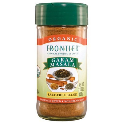 Frontier Garam Masala Certified Organic, Salt Free Blend, 2-Ounce Bottles (Pack of 3)
