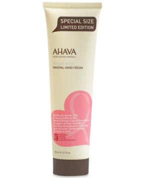 Ahava 50% More Breast Cancer Awareness Mineral Hand Cream, 5 oz - Limited Edition
