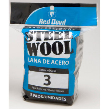 Red Devil 8 Pack #3 Steel Wool 0326