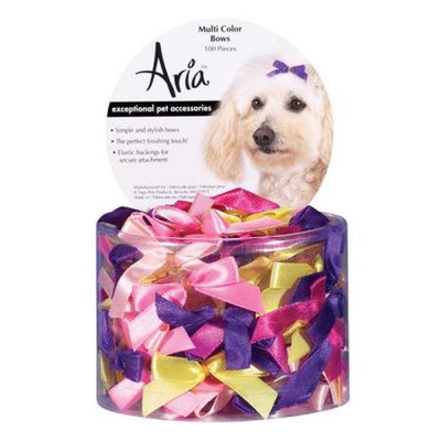 Petedge DT161 99 Aria 3/8 In Multi-Color Bow Canister 100/Pcs