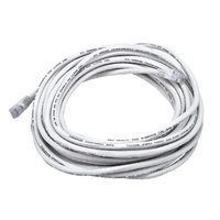 Monoprice 30FT 24AWG Cat6 550MHz UTP Bare Copper Ethernet Network Cable - White