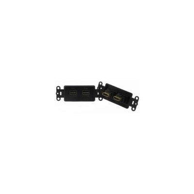 PowerBridge HDMI-2-BK Pass-Thru Decora Insert with Dual HDMI - Each, Black