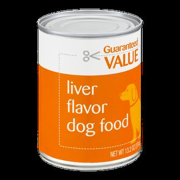 Guaranteed Value Dog Food Liver Flavor