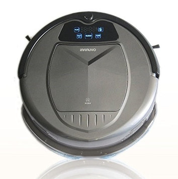 Infinuvo Hovo 650 Robotic Vacuum Set Color: Grey