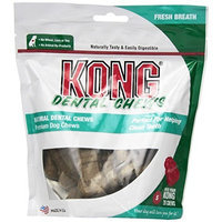 KONG Premium Treats Dental Chews Breath Fresh, Small