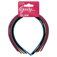 Goody Products Inc. Girls Scalloped Shoestring Headbands, 5 pcs