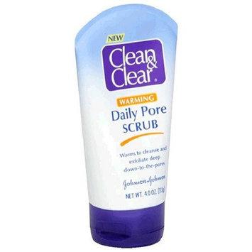 Clean & Clear® Warming Daily Pore Scrub
