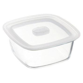 Bormioli Rocco Frigoverre Microwave 47 oz. Square Glass Food Storage
