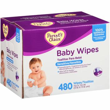 Parent's Choice Sensitive Baby Wipes