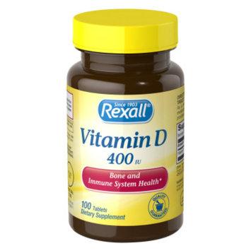 Rexall Vitamin D 400 iu - Tablets, 100 ct
