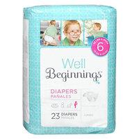 Walgreens Well Beginnings Premium Diapers Jumbo 6