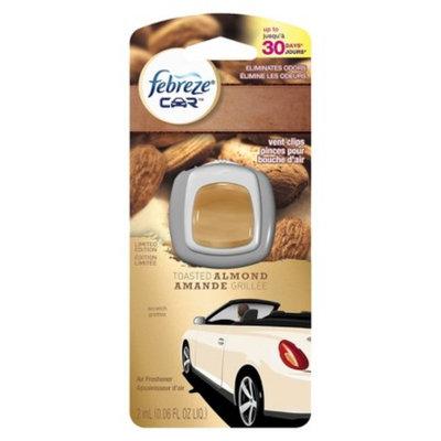 Febreze Car Vent Clip - Toasted Almond (0.06oz)