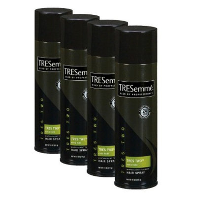 TRESemmé Styling Aid TRES Two Extra Hold Aerosol Hair Spray 4 Pack Bundle