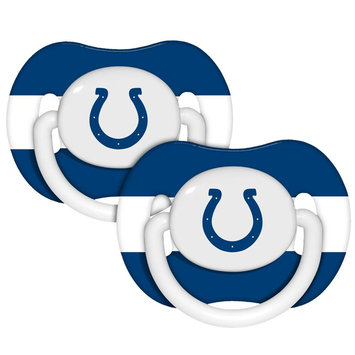 Baby Fanatic Indianapolis Colts Pacifers - 2 Pack