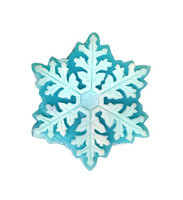Hugo Naturals - Handcrafted Artisan Soap Snowflake Vanilla Peppermint - 4 oz.