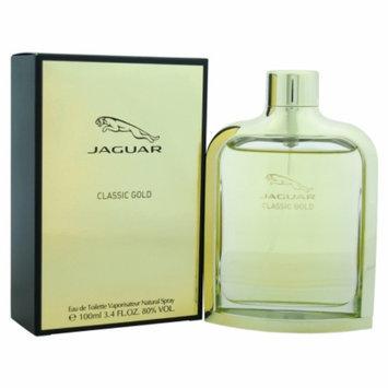 Jaguar Classic Gold Eau de Toilette Spray, 3.4 fl oz