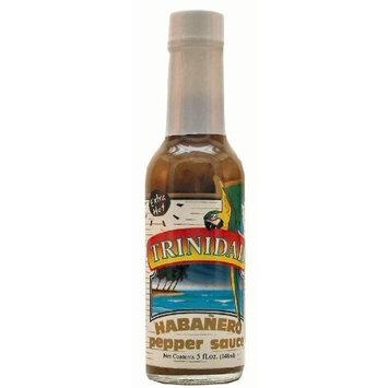 Trinidad Pepper Sauces Trinidad Extra Hot Habanero Pepper Sauce - 5 oz
