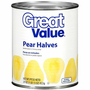 Great Value :  Pear Halves