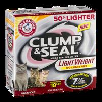 ARM & HAMMER™ Clump & Seal Odor Sealing Litter Multi-Cat