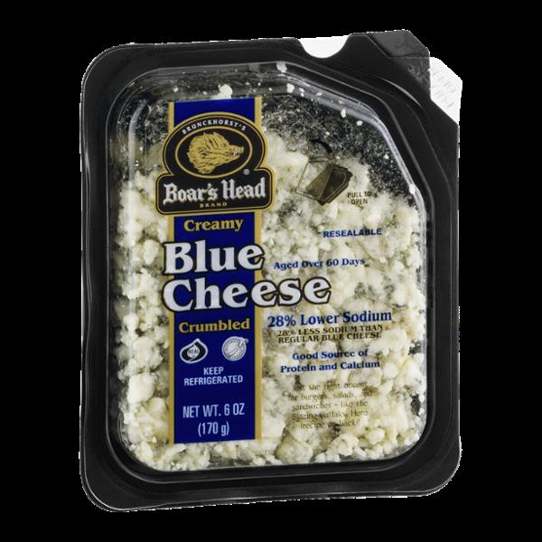 Boar's Head Creamy Blue Cheese Crumbled