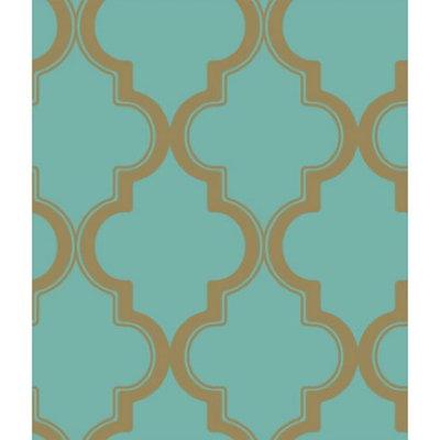 Devine Color Cable Stitch Wallpaper - Pond