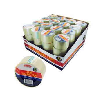 Bulk Buys Clear sealing tape display Case Of 64
