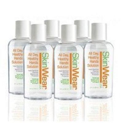 SkinWear Skin Wear Hand Sanitizer, 2-Fluid Ounce (Pack of 6)
