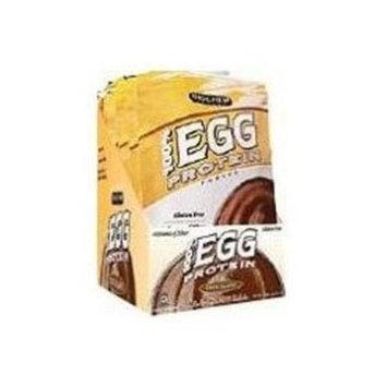Bio Chem Biochem 100% Egg Protein Powder, Chocolate, Single Serving Packs 43.83 g, 10-Count
