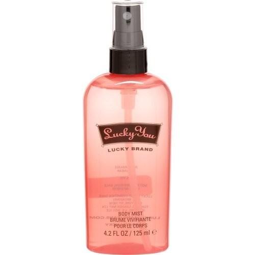 Lucky You By Lucky Brand For Women. Body Mist Spray 4.2 Oz / 125 Ml