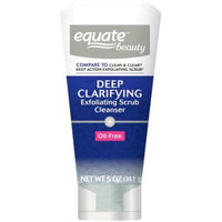 Equate Beauty Deep Clarifying Exfoliating Scrub Cleanser, 5 oz